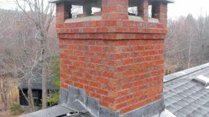 Réfection souche de cheminée