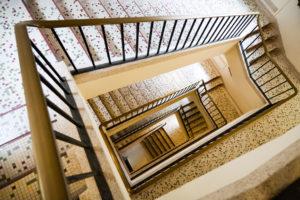 Renovation cage escalier