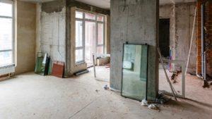 Appartement avant rénovation à Lyon